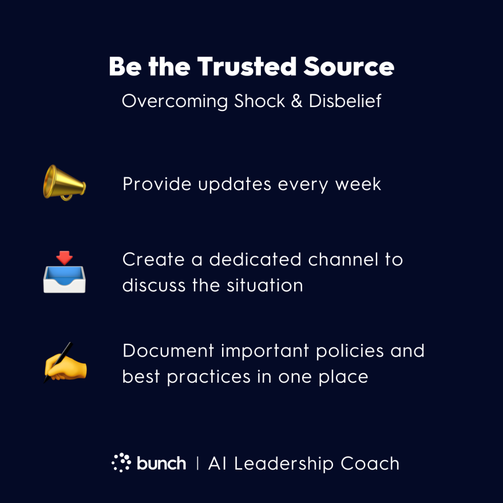 Bunch AI Leadership Coach - Be the Trusted Source