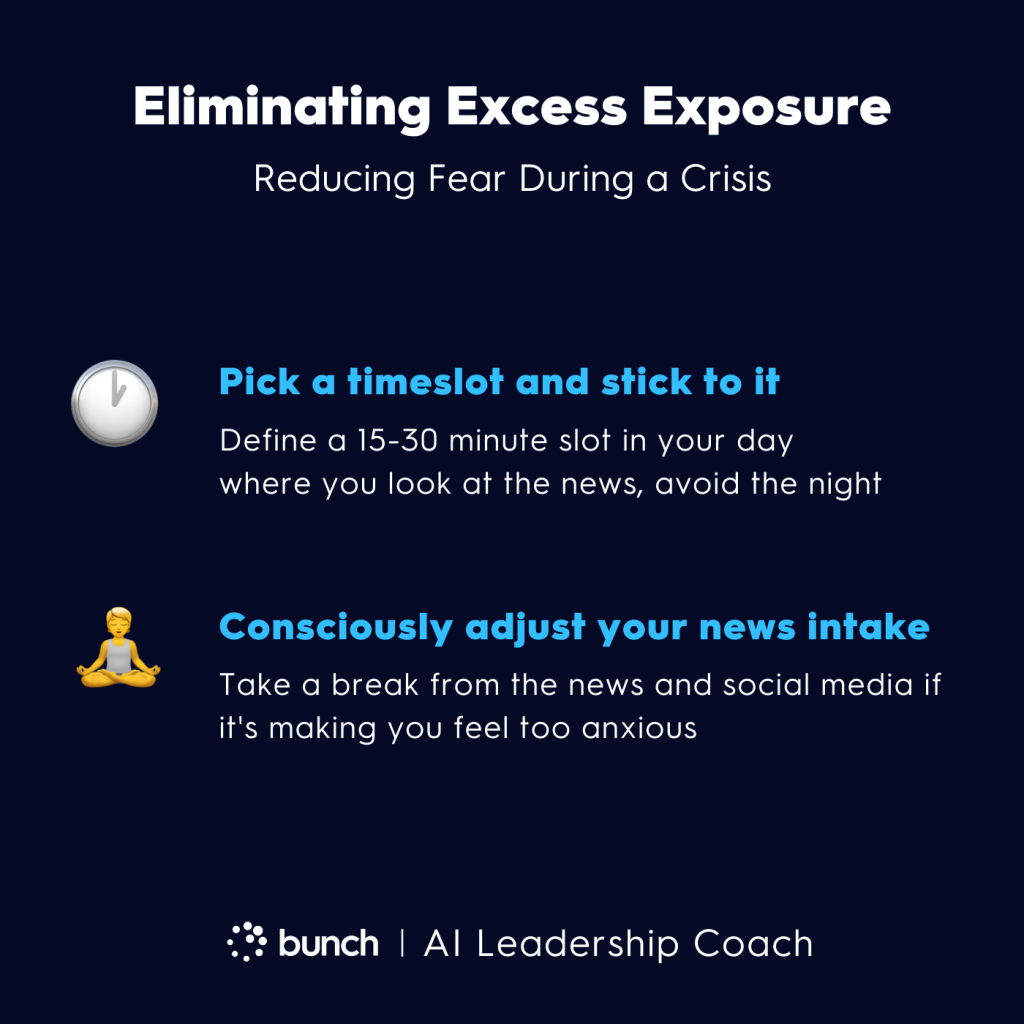 Bunch AI Leadership Coach -  Eliminating Excess Exposure