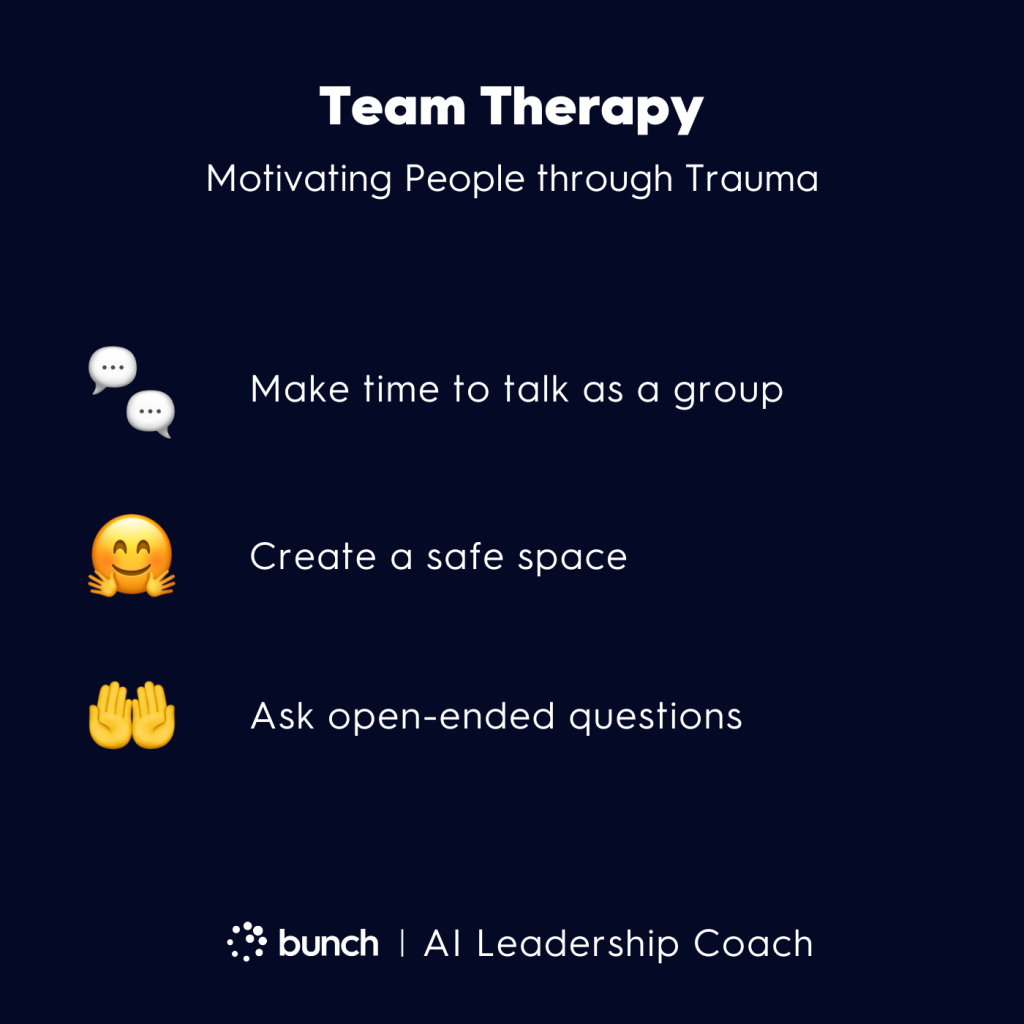 Bunch AI Leadership Coach -  Team Therapy
